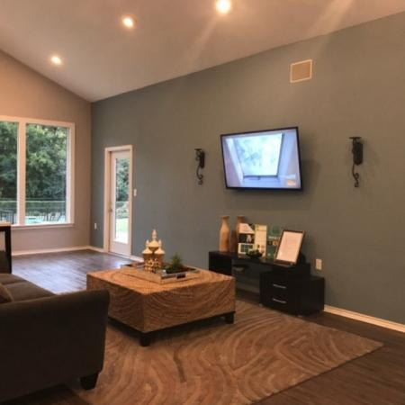 Resident Lounge at Valley Ridge Apartment Homes in Lewisville, TX