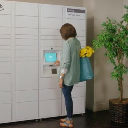 Package lockers at Andorra Apartments in Camarillo, CA