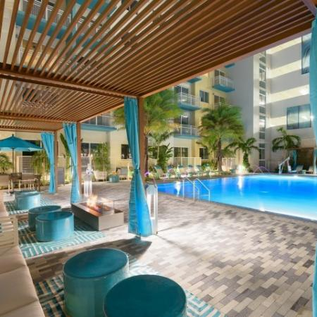 Cabanas at ORA Flagler Village Apartments in Fort Lauderdale FL