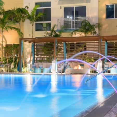 Water level at ORA Flagler Village Apartments in Fort Lauderdale FL