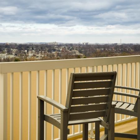 Views from at The Alexander Apartments in Alexandria VA