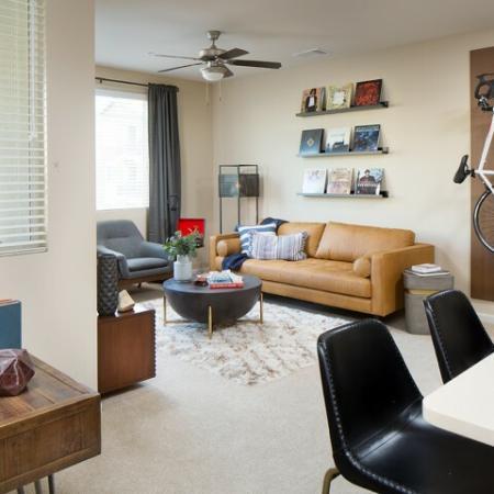 Valentia La Habra - Living Room