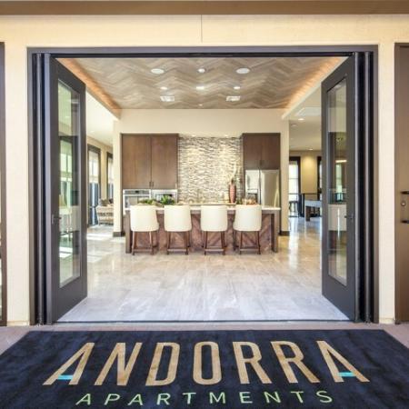 Social Lounge at Andorra Apartments in Camarillo, CA