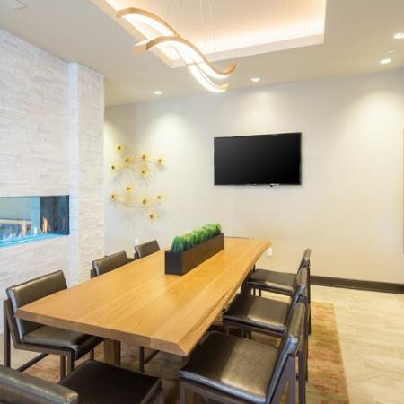 Dining Room at Andorra Apartments in Camarillo, CA