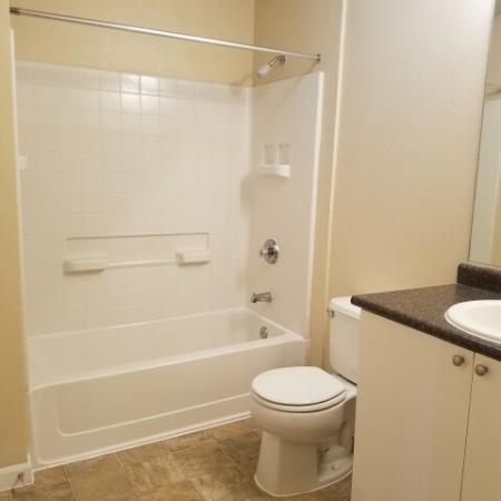 Bathroom at Bristol Apartments in Dixon, CA 95620