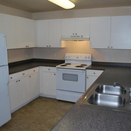 Kitchen at Bristol Apartments in Dixon, CA 95620