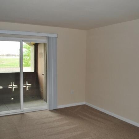 Patio at Bristol Apartments in Dixon, CA 95620