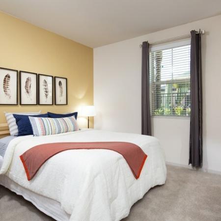 Bedroom at Andorra Apartments in Camarillo, CA