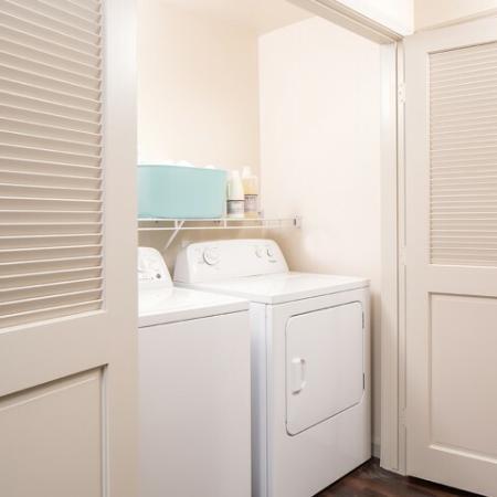 Laundry in unit at Andorra Apartments in Camarillo, CA