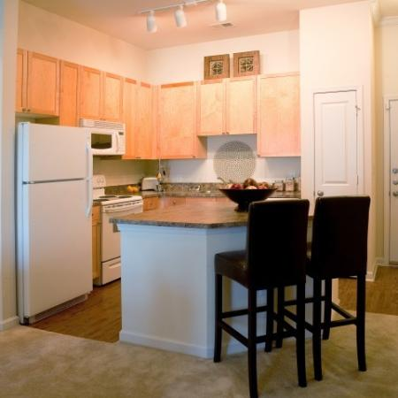 Kitchen at The Alexander at Ghent Apartment Homes in Norfolk, VA