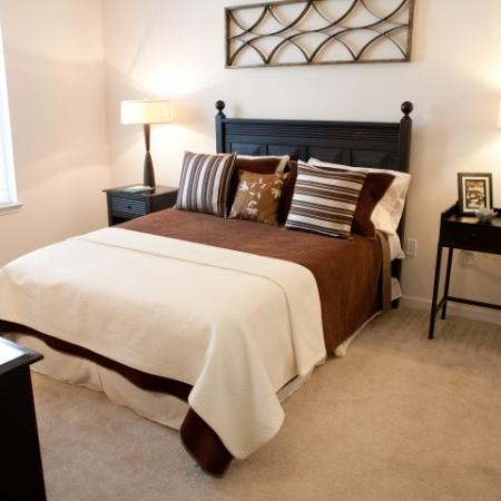Bedroom at The Alexander at Ghent Apartment Homes in Norfolk, VA