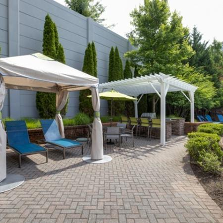 Cabanas at The Montgomery Apartments in Bethesda MD