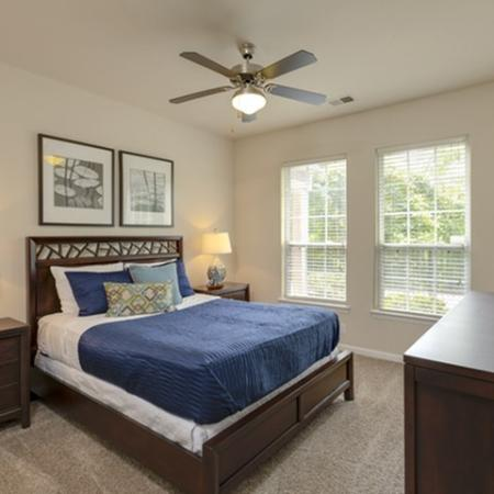 Bedroom at The Montgomery Apartments in Bethesda MD
