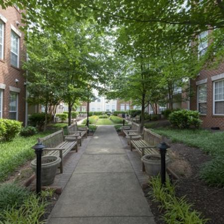 Exterior at The Montgomery Apartments in Bethesda MD