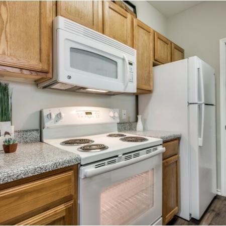 Kitchen at Reserve at Las Brisas in Irving, TX