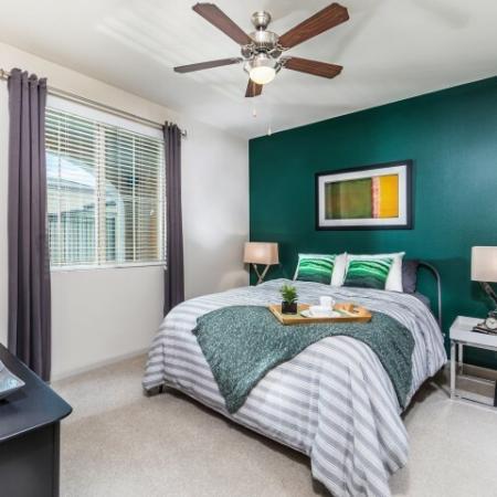 Master Bedroom at Andorra Apartments in Camarillo, CA