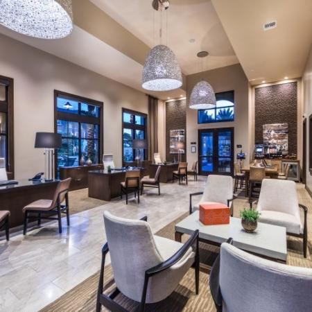 Leasing center at Andorra Apartments in Camarillo, CA