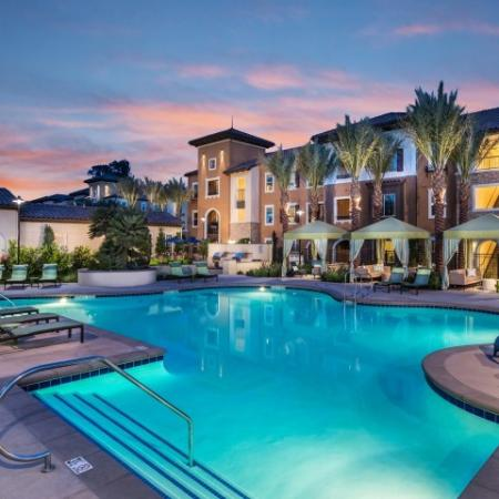 Pool at Andorra Apartments in Camarillo, CA