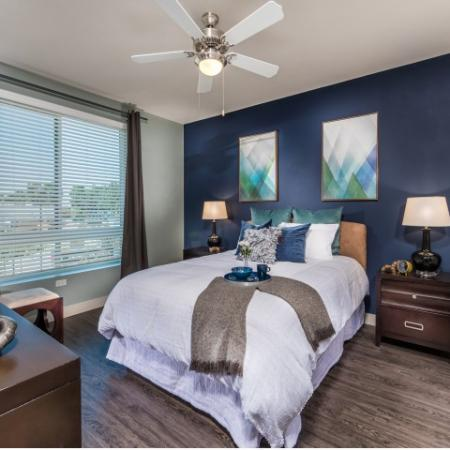Guest Bedroom at RIZE Irvine apartments in Irvine, CA