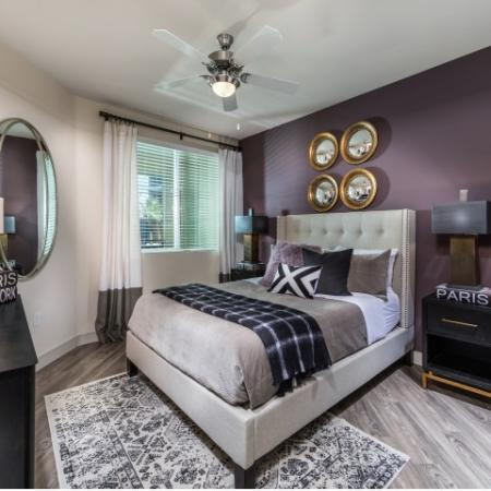 Master Bedroom at RIZE Irvine apartments in Irvine, CA