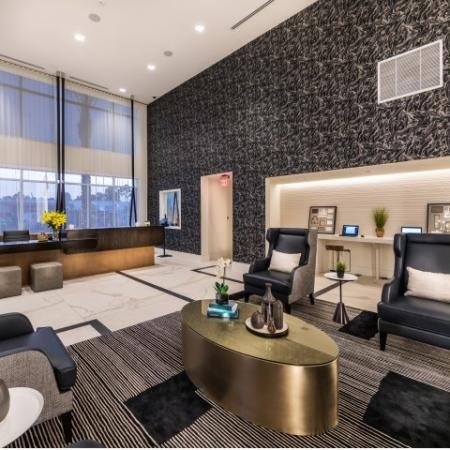 Leasing Office at RIZE Irvine apartments in Irvine, CA