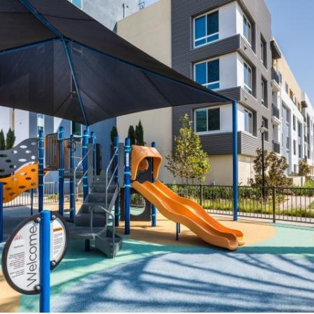 Playground at RIZE Irvine apartments in Irvine, CA