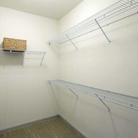 Enclave at Potomac Club Apartments in Woodbridge, VA walk in closets