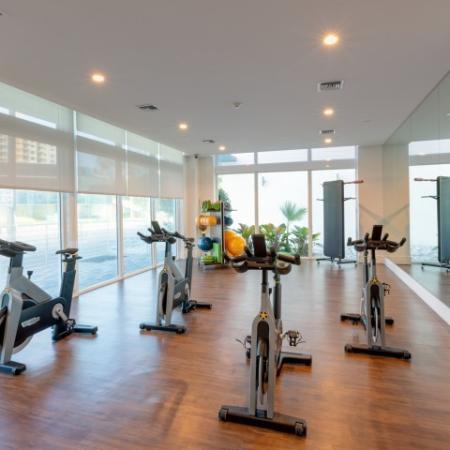 Spin and yoga studio ORA Flagler Village Apartments in Fort Lauderdale Florida