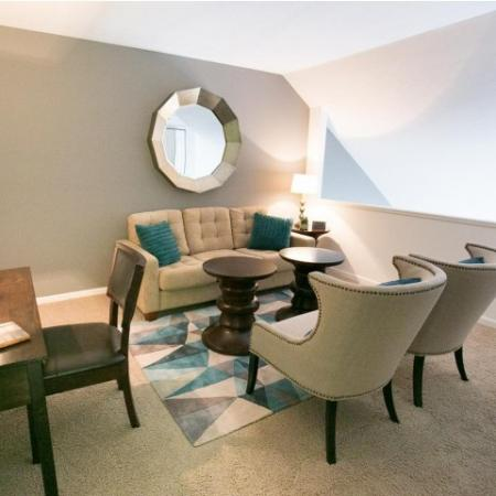 Loft space at The Village of Western Reserve Apartments in Streetsboro, OH