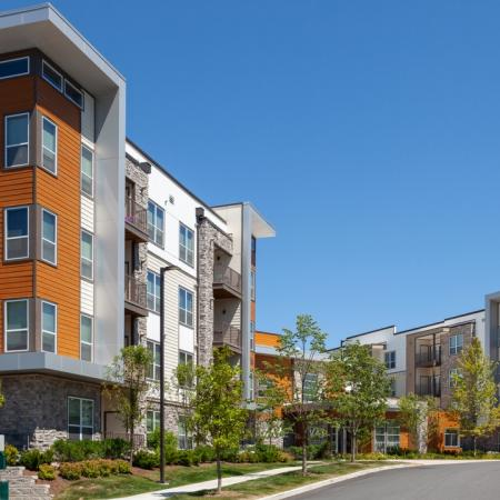 Exterior of Mave Apartments in Stoneham, MA