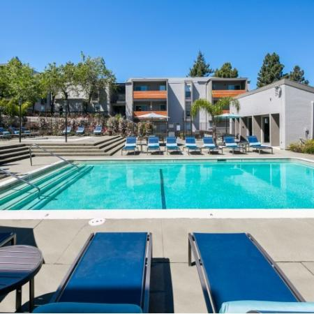 Pool at Bayside Apartments in Pinole CA