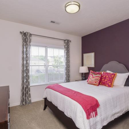 Designer accent wall program at The Residence at Barrington in Aurora, OH