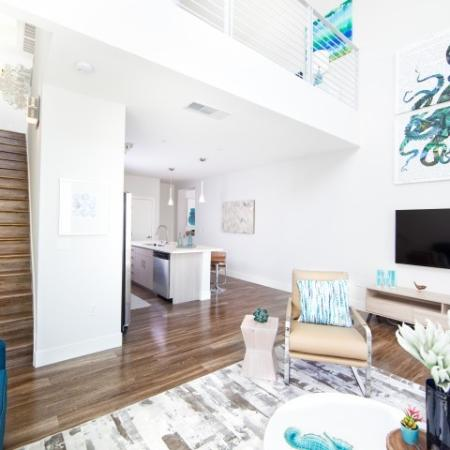 Interior at South Beach Apartments in Las Vegas, N