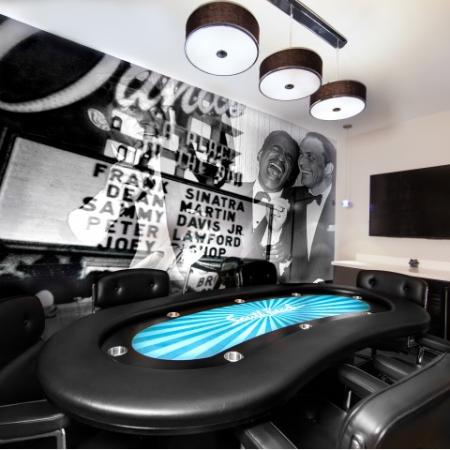 Poker room at South Beach apartments in Las Vegas, NV