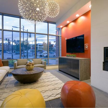 Resident lounge, perfect for meeting friends before an evening out