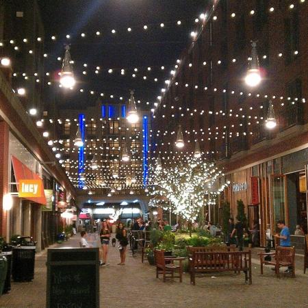 Bethesda Row filled with shops and dining, just steps from 7001 Arlington