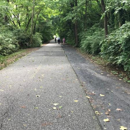 Clear you mind on the Capital Crescent Trail, located directly behind the property
