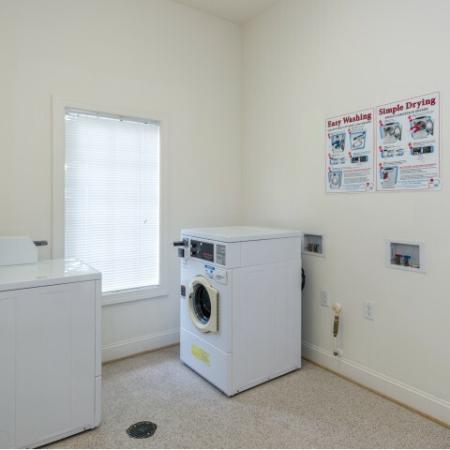 Laundry at Whispering Oaks in Portsmouth, VA