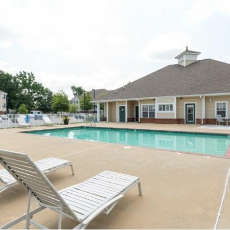 Pool at Whispering Oaks in Portsmouth, VA