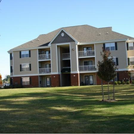 Tons of green space at Whispering Oaks in Portsmouth, VA