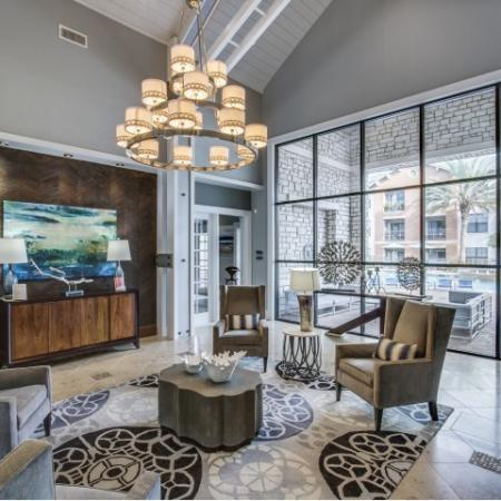 Clubhouse at Montfair at the Woodlands apartments in Houston TX