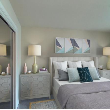 Bedroom at Adler at Water Landing in Germantown MD