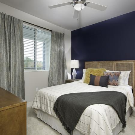 Bedroom at Vela on OX Apartments in Woodland Hills CA