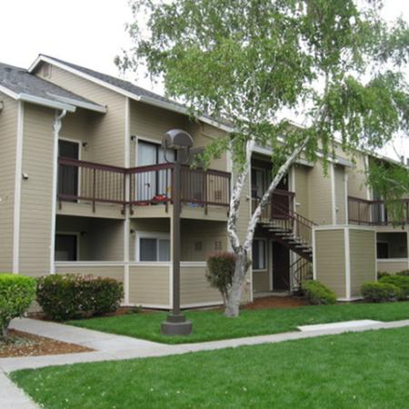 Exterior at Riverstone Apartment Homes in Antioch CA