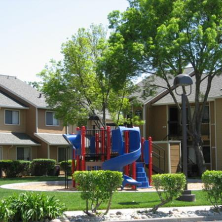 Play area at Riverstone Apartment Homes in Antioch CA