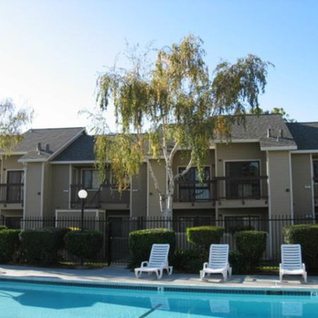 Pool at Riverstone Apartment Homes in Antioch CA