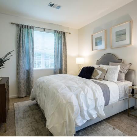 Bedroom at Heritage on the Merrimack Apartments in Bedford NH