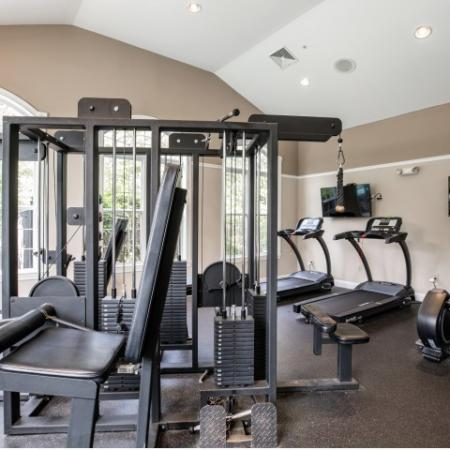 Fitness Center at Heritage on the Merrimack Apartments in Bedford NH