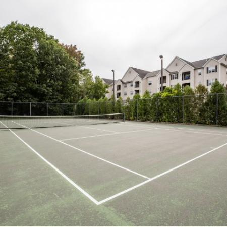 Tennis Court at Heritage at The Merrimack apartments in Bedford, NH