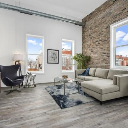 Loft style apartment in Logan Square